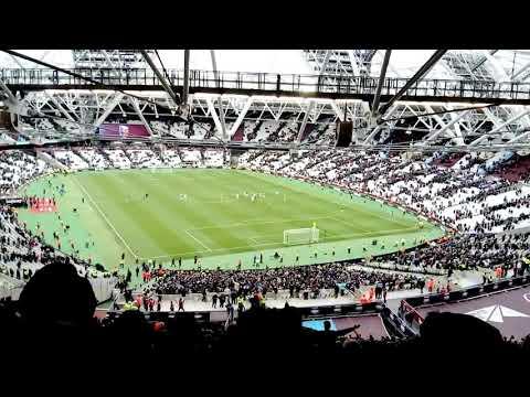 West Ham United v City - Pablo Zabaleta song