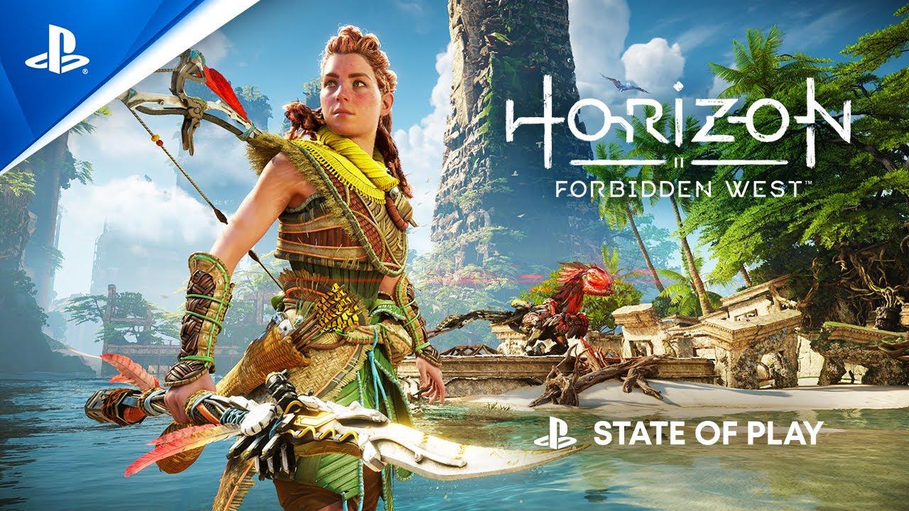 PS5『Horizon Forbidden West』 State of Play實機遊玩影片