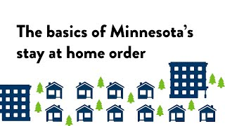 The basics of Minnesota's stay at home order