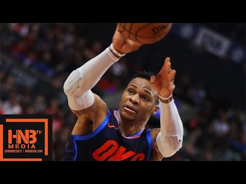 Toronto Raptors vs Oklahoma City Thunder Full Game Highlights / March 18 / 2017-18 NBA Season