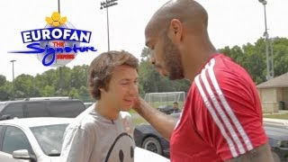 How I Pissed Off Thierry Henry | Eurofan Signature Series Review
