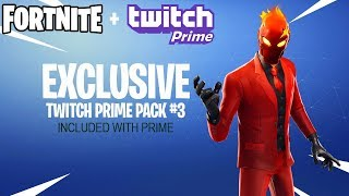 Fortnite Twitch Prime Pack 3.. (Inferno Skin)