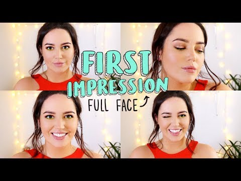 Full Face of First Impressions! 🙌🏼 Urban Decay, NYX, Benefit + More!