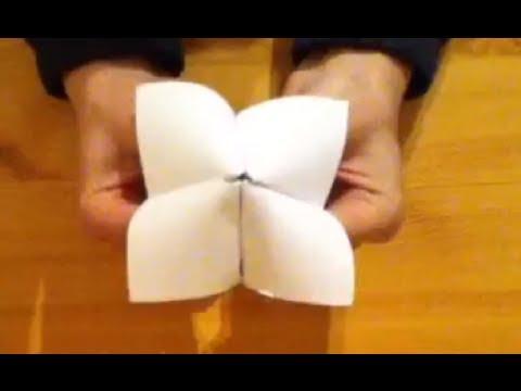 r aliser une cocotte en papier faire un jeu en origami youtube. Black Bedroom Furniture Sets. Home Design Ideas