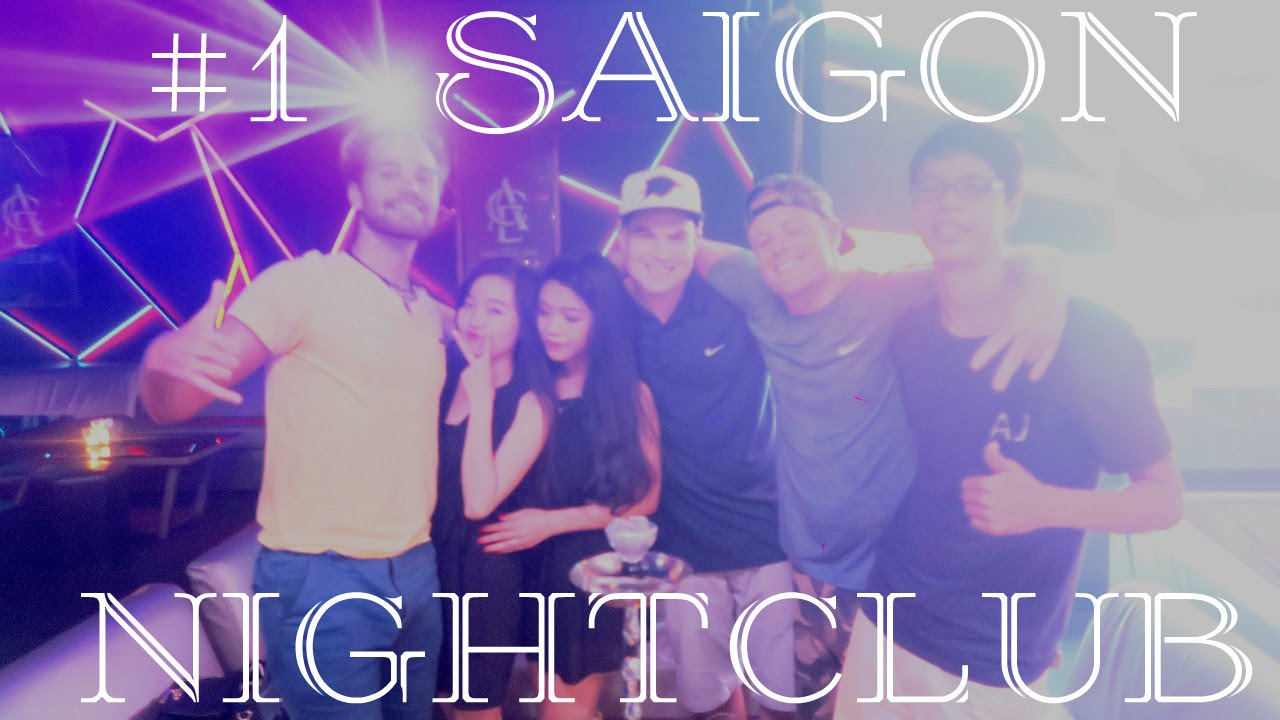 A Night Out in Saigon: ACE NIGHTCLUB!! ♤ Vietnam Ho Chi Minh City Nightlife 2016!!