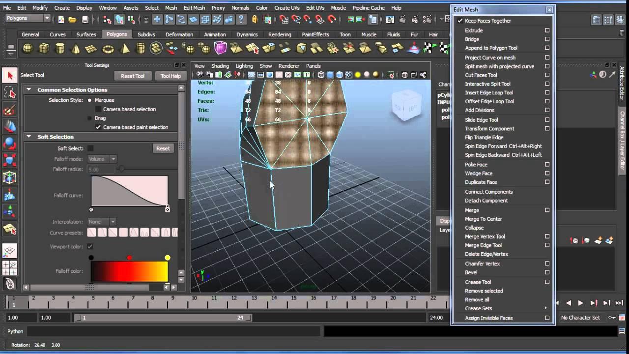 Modelling in Blender & Maya « annex2nothing com