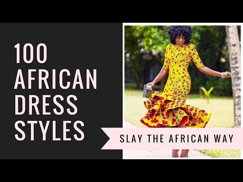 100 African dress styles