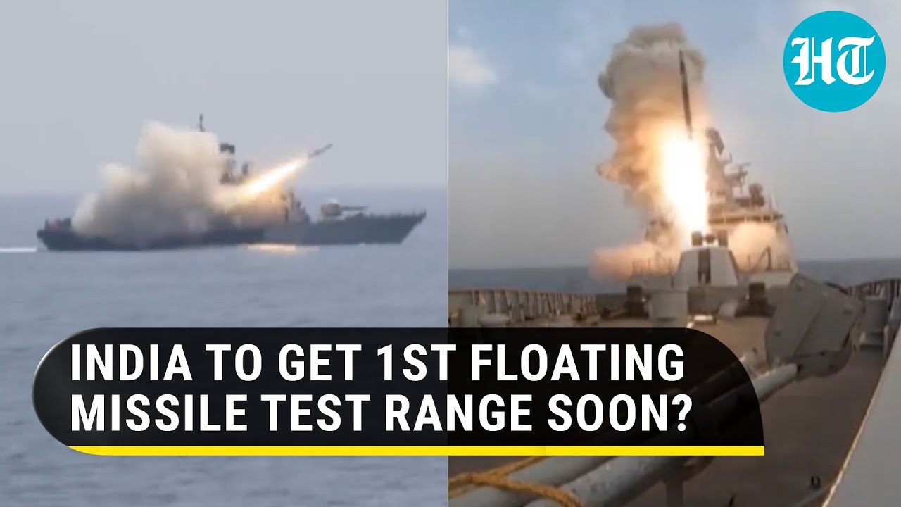 For secretive & futuristic missile tests, India's first floating range INS Anvesh to go on sea trial - Hindustan Times