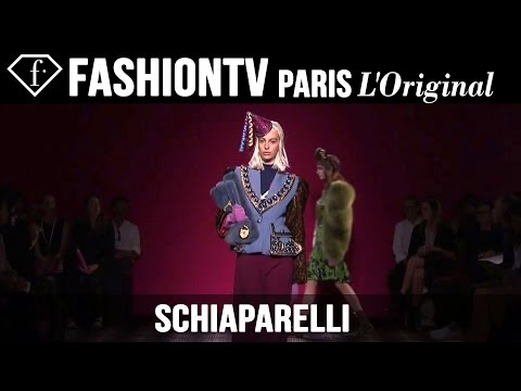 Schiaparelli Haute Couture Fall/Winter 2014-15 EXCLUSIVE | Paris Couture Fashion Week | FashionTV