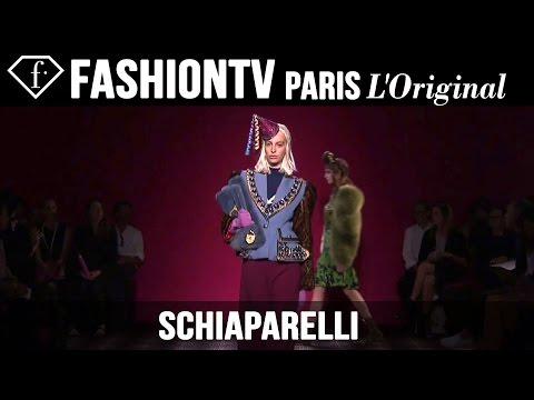 Schiaparelli Haute Couture Fall/Winter 2014-15 EXCLUSIVE   Paris Couture Fashion Week   FashionTV