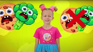 Do you like broccoli - Song for children with Maya and Mary