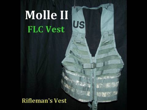 Molle II FLC Military Issue Tactical Vest