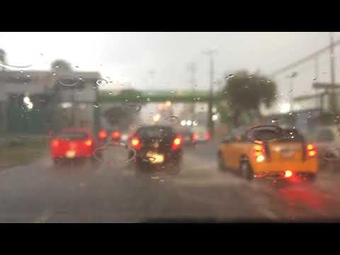 Lluvia de esta tarde. 6 septiembre 2017