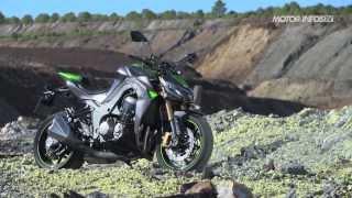Essai Kawasaki Z 1000 2014