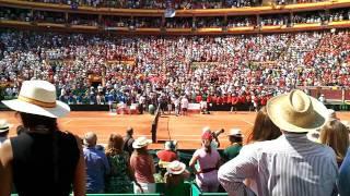 Semifinal copa davis  España Francia en Córdoba parte 10