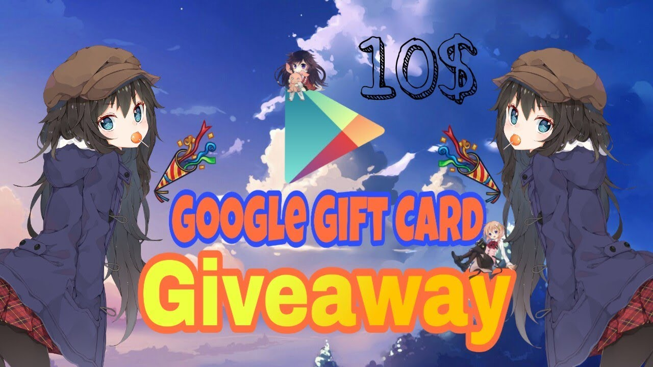 10 gift card giveaway anime lovers