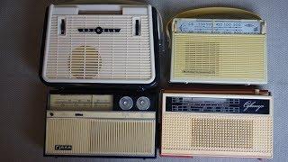 """видео: """"Транзисторы"""" детства - радиоприемники 60-х годов"""