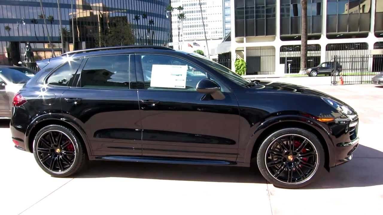 2013 Porsche Cayenne Gts Jet Black Metallic Now For Sale And Order In Beverly Hills Youtube