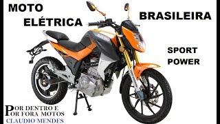MOTO ELETRICA BRASILEIRA ELECTRO SPORT POWER 2019