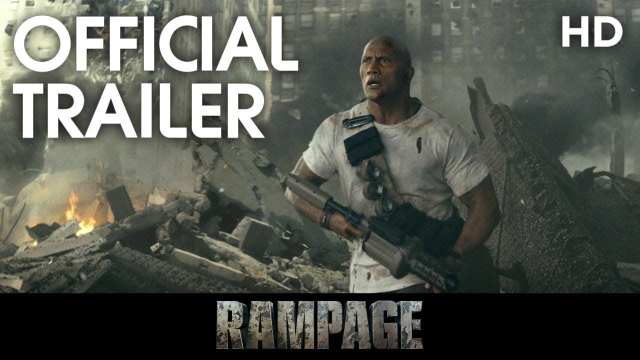 rampage official trailer 1 2018 hd youtube