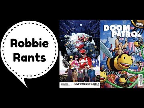 Weekly Comic Book Review 07/26/17 - Robbie Rants #105