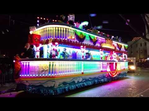 Mardi Gras New Orleans 2016 Endymion Parade Jerry Springer Float!!