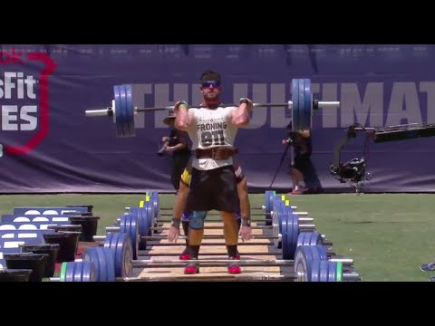 Clean and Jerk Ladder: Men 2013 CrossFit Games