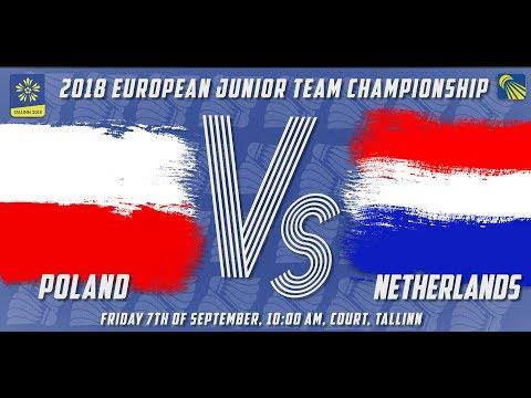 Poland vs Netherlands - Day 1 - 2018 European Jnr. Team C'ships