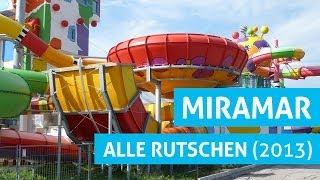 Alle Rutschen im Miramar Weinheim! (2013 Version)