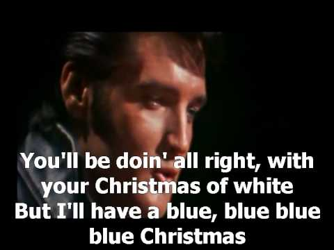 Elvis Presley - Blue Christmas - YouTube
