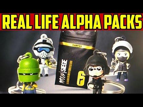 Rainbow Six Siege New Alpha Packs in Real Life @ Gamestop