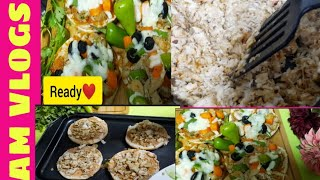 How To Make Chi¢ken BUN PIZZA| EASY RECIPE| quick way|