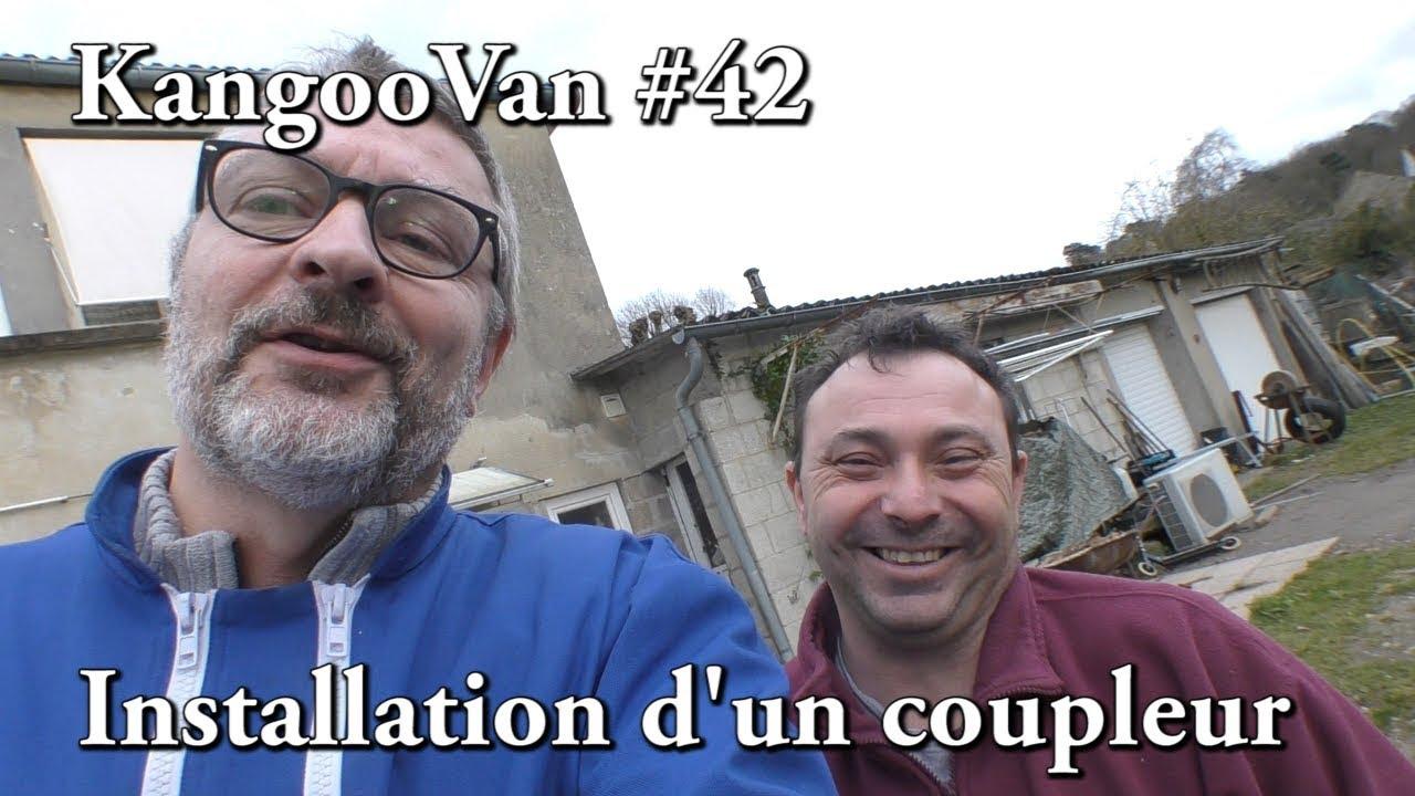 vlog kangoovan 42 installation d 39 un coupleur s parateur de batterie youtube