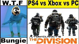 WTF Bungie! Destiny Hotline bling Emote! The division beta PS4, Xbox One, Pc Graphics  Comparison.