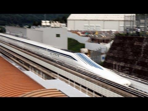Japón pone a prueba su tren de levitación magnética L0, superando los 500 km/h (vídeo)