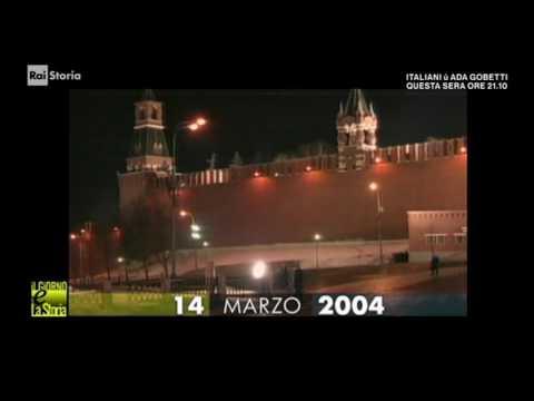 (Giorno & Storia) 14 marzo 2004 - Vladimir Putin rieletto Presidente della Russia