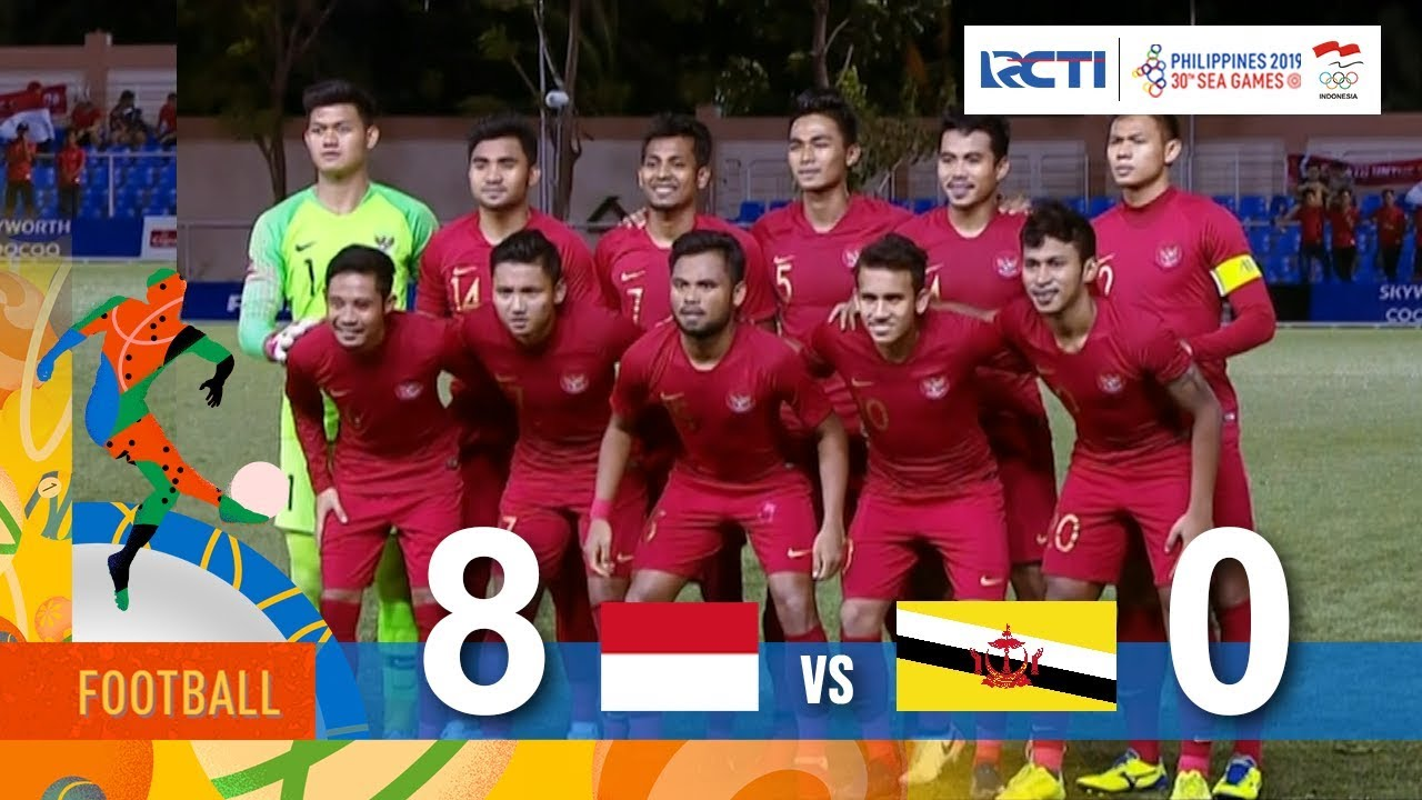 Indonesia 8 Vs 0 Brunei Darussalam Sea Games 2019 Youtube
