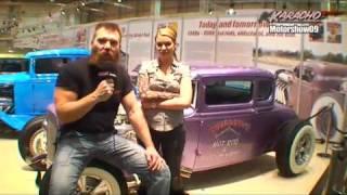 Smokin' Shutdown Thom Piston and Leonie Saint on KARACHO tv