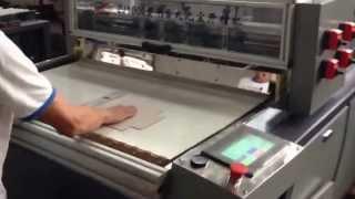 Zj1000/zj1300  MDF / Cardboard Grooving Machine For Box Making