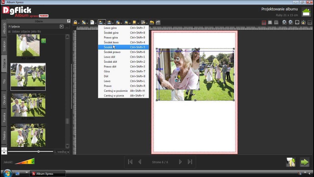 04 - Order Xpress - Precyzyjne rozmieszczanie zdjęć na stronie