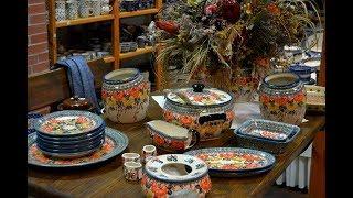 Стильная Керамическая посуда Polish Pottery от Campo & Fiori Store