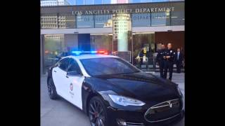 Une Tesla Model S pour la police de Los Angeles