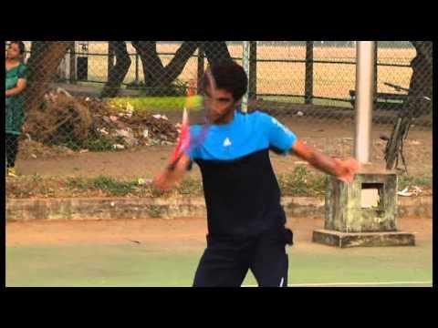 Tennis Recruiting Video - Manish Sureshkumar