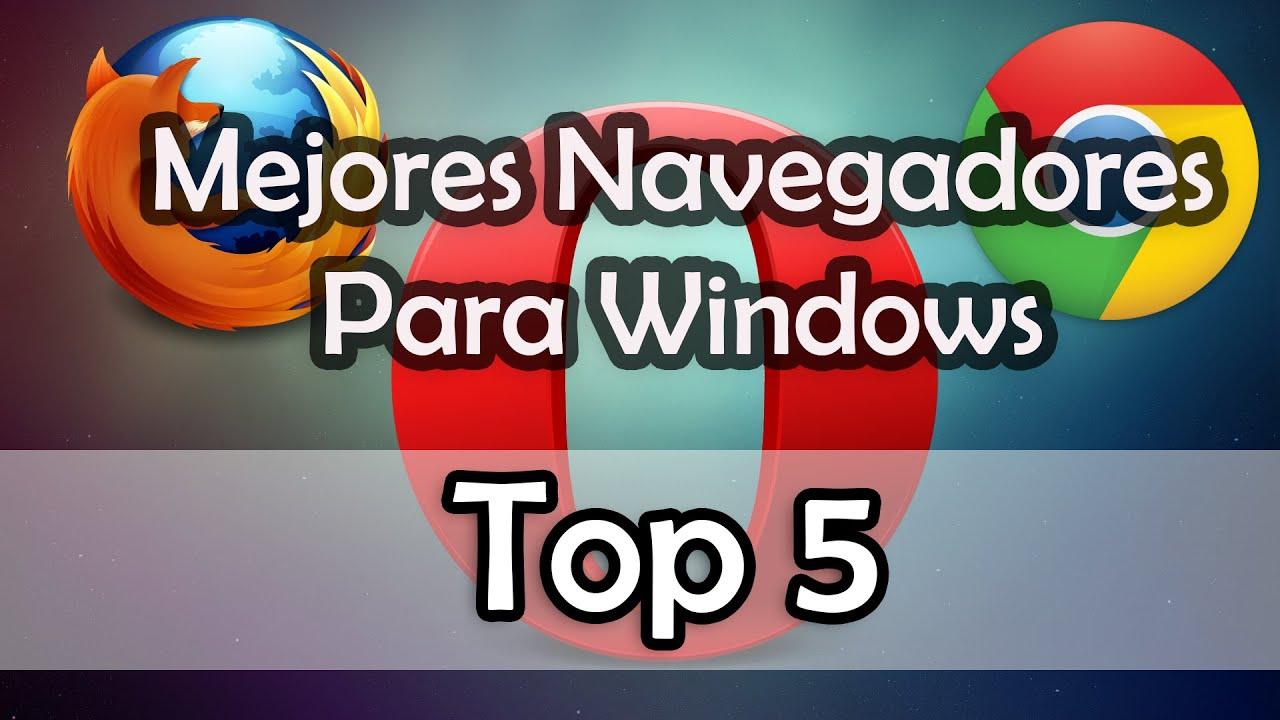 Mejores Navegadores Para Windows 7, 8, 8.1 y 10   2016   Review Awake -  YouTube