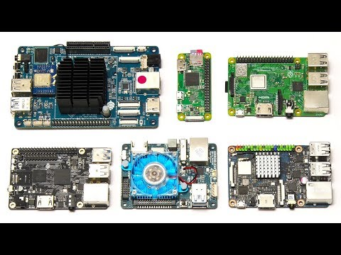 Six SBC Benchmark: ODROID XU4, ROCKPro64 & More! - YouTube