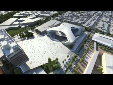 Bogota International Convention Center - Zaha Hadid Architects.flv