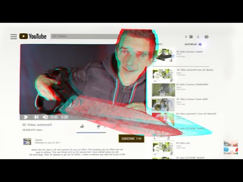 3D Giant scissors (stereo 3D) from YouTube · Duration:  3 minutes 9 seconds