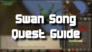 Runescape 2007 Swan Song Quest Guide