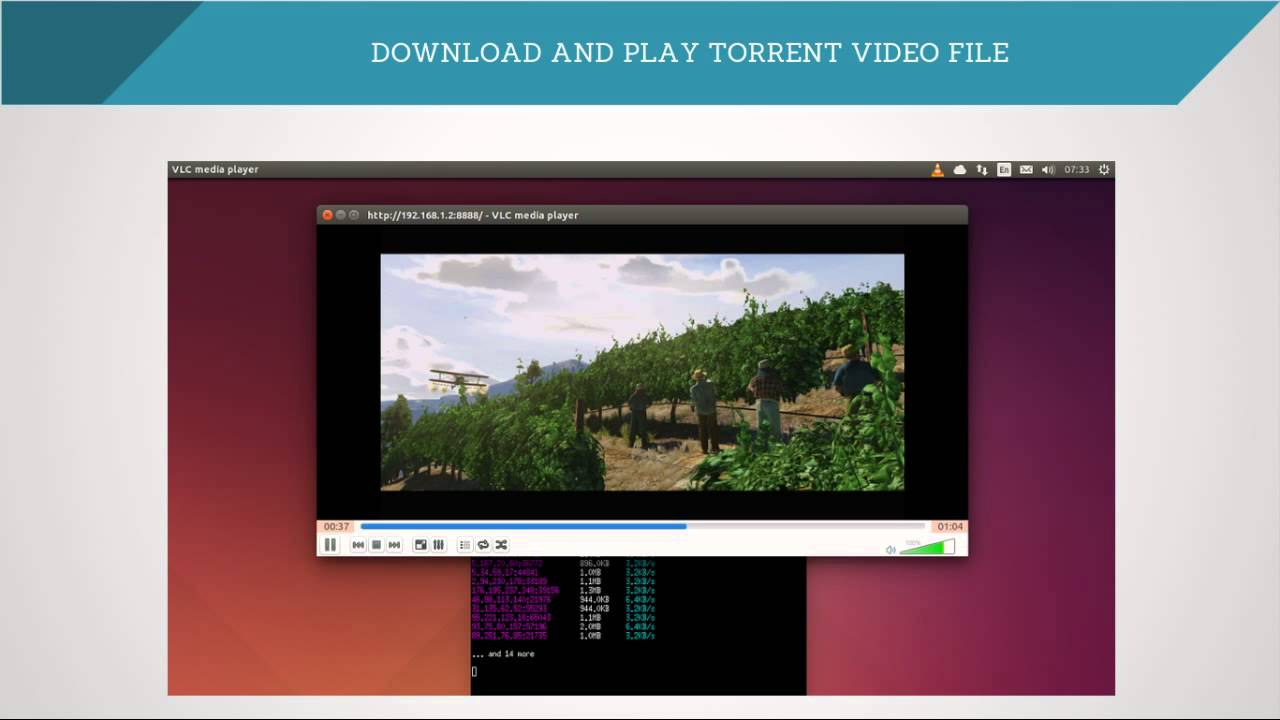 How to Play Torrent Video File Using VLC Media Player