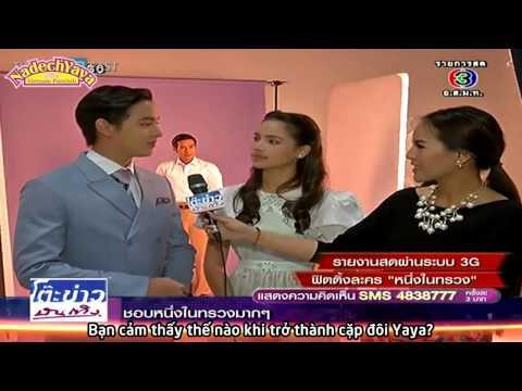 114. [Vietsub] KKBT - Yaya trong buổi fitting đầu tiên của Nueng Nai Suang - 02/04/2014